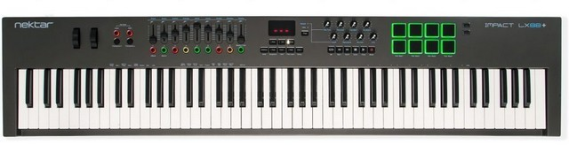 MIDI keyboards are mostly useful for entering notes and playing chords/melodies