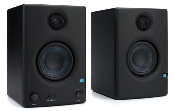 PreSonus Eris 3.5 is one of the best studio monitors under $200 for absolute beginners