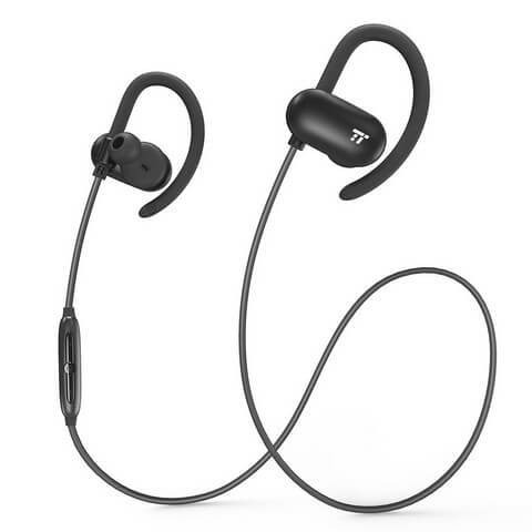 Taotronics sport headphones offer wireless performance on a budget for cyclists