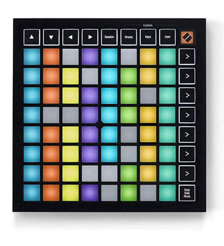 The tiny Novation Launchpad Mini is one of the best Ableton controllers if you value portability