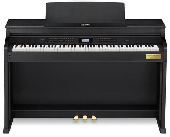 Casio AP700 is the best overall digital piano for advanced pianists who want performance