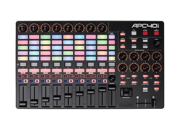 Akai APC40 MK2 is the best MIDI and DAW controller