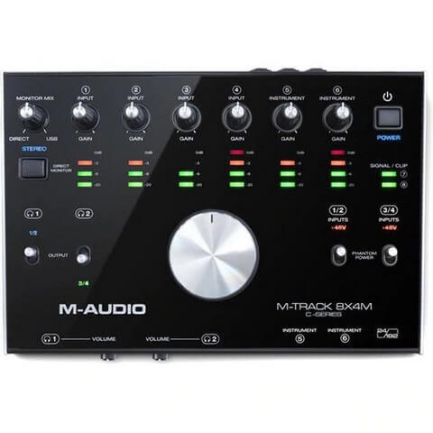 The M-Audio M-Track is the best audio interface for live performance if you're on a budget