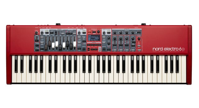 Nord Electro 6D 61 is the best stage piano for live performance on the market