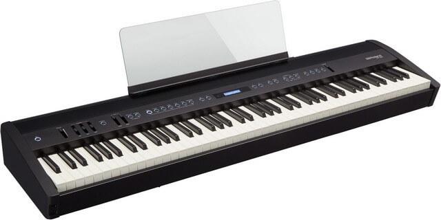 Roland FP-60 digital piano in black