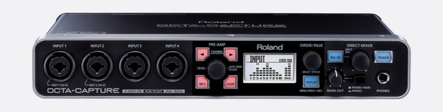 Roland Octa-Capture is the best audio interface for live performance if you want low latency performance