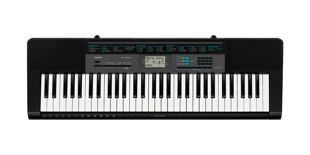 Casio CTK2500 is a great starting keyboard for beginners on a budget