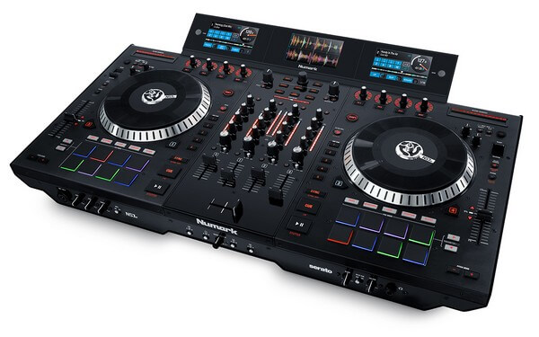 Numark NS7III is the best DJ controller for scratching on the market right now