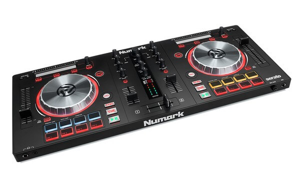 Numark Mixtrack Pro is the best DJ controller if you're just getting started