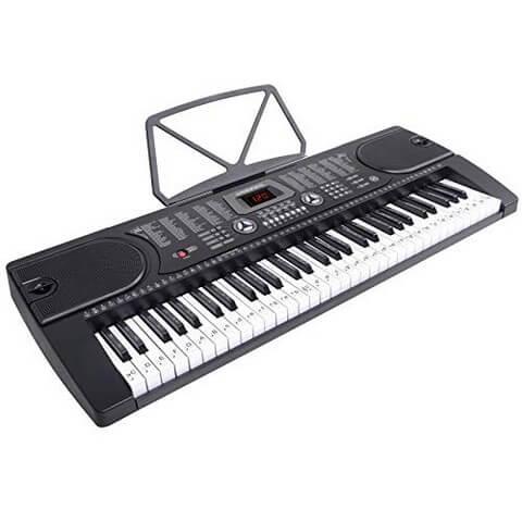 Rockjam 61 is an ultra cheap keyboard that's great for kids