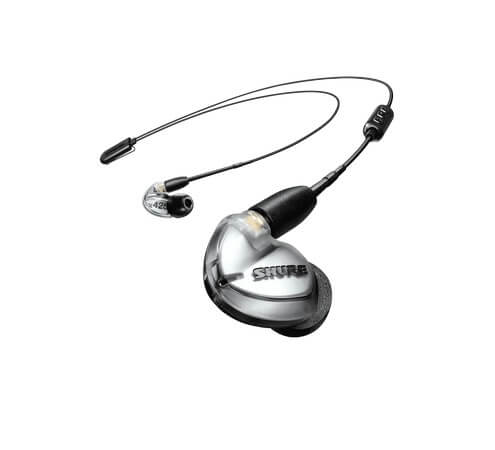 Shure SE425 Bt are the perfect Bluetooth alternatives for wireless performance while playing drums