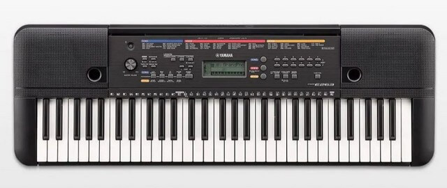 Yamaha PSR E263 is one of the best beginner keyboards around