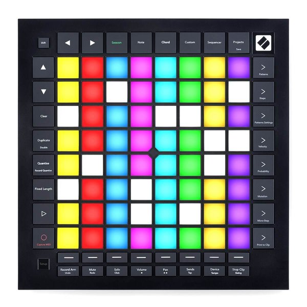 Novation Launchpad Pro MK3 is the best MIDI keyboard for FL Studio if you want a sequencer-based pad controller