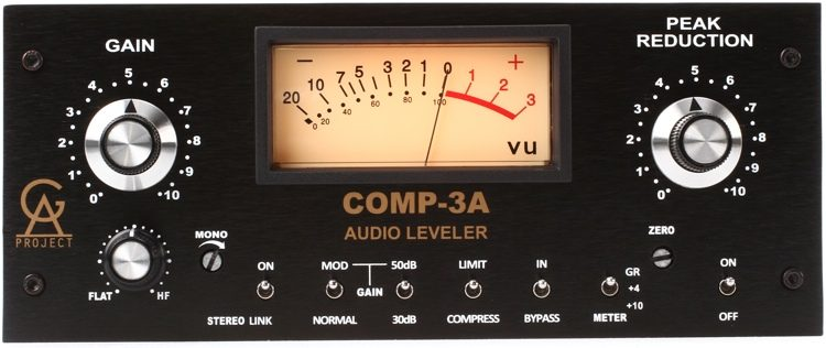 Golden Age Project Compp 3A-LA is the best vocal compressor for home studios on a budget