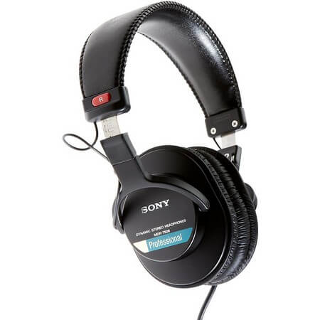 Sony MDR7506 - the best DJ headphones if you're on a budget and want a pair of cans for mixed use