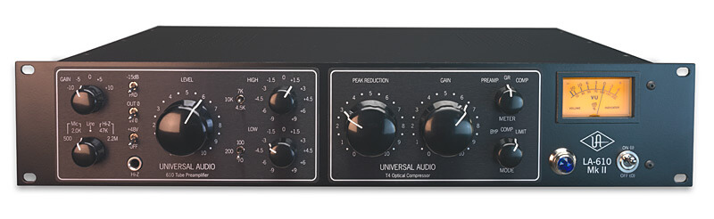 Universal Audio LA-610 Mk II is the best vocal compressor you can buy in 2020