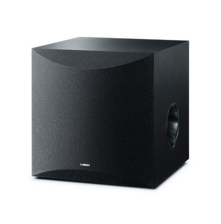 The Yamaha NS-SW300PN are the best home theater subwoofers for performance enthusiasts