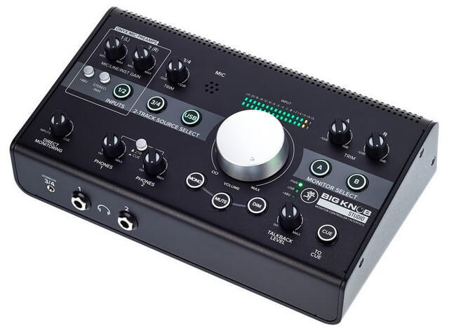 Mackie Big Knob Studio+ is one of the best monitor controllers for home studios and power users