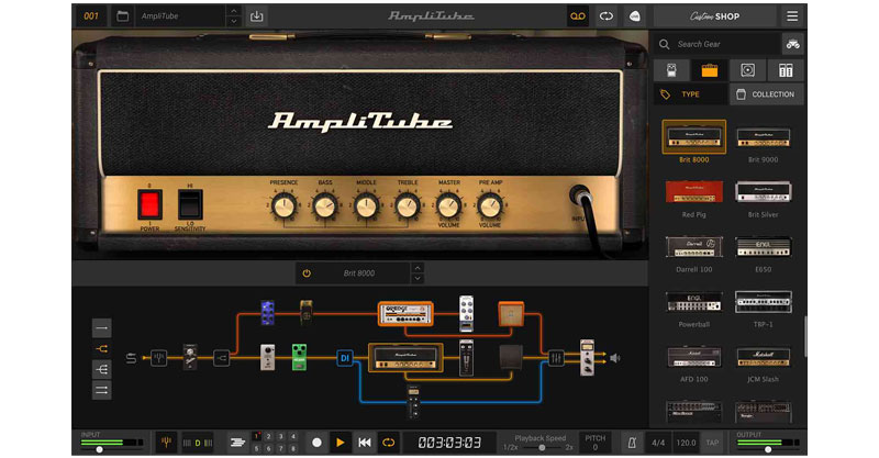 AmpliTube 5 Custom Shop