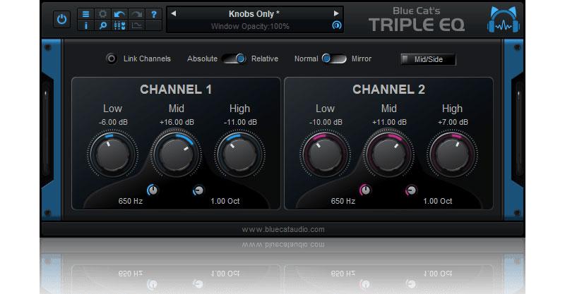 Blue Cat's Triple EQ By Blue Cat Audio