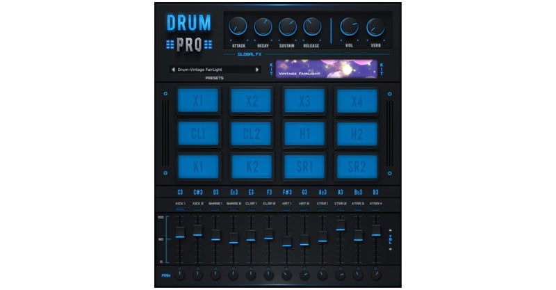 Drum Pro By Studio Linked