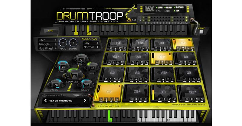 DrumTROOP By DUBturbo