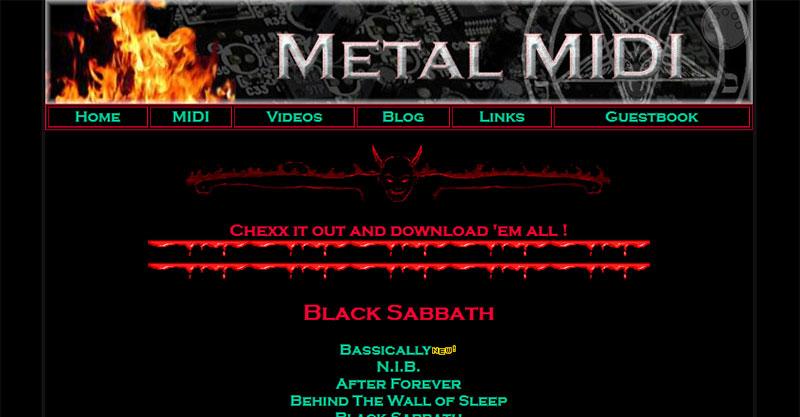 Metal MIDI