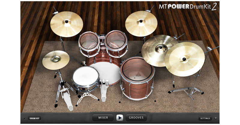 MT Power Drum Kit 2 by MANDA AUDIO
