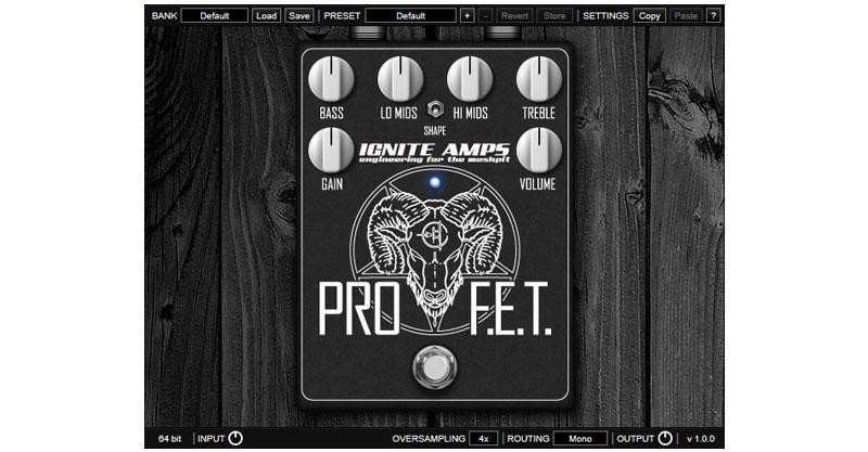 ProF.E.T. By IGNITE AMPS