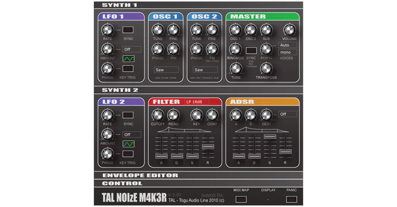 TAL-NoiseMaker By TAL Software