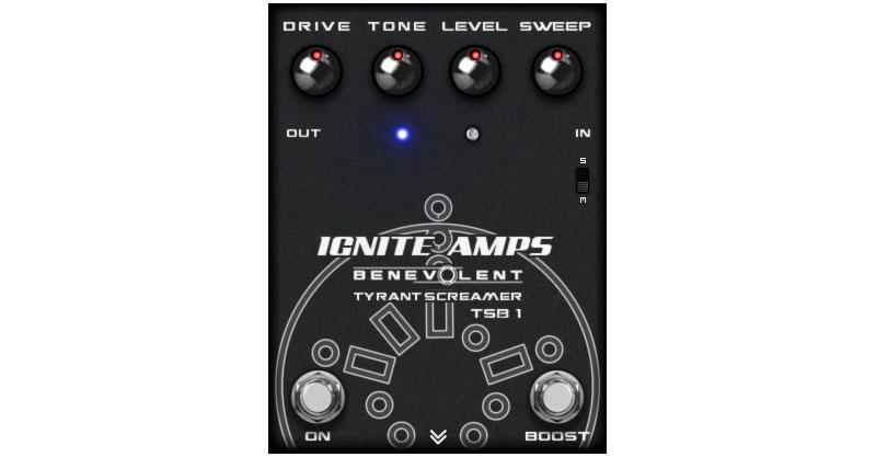 TSB-1 Tyrant Screamer By IGNITE AMPS
