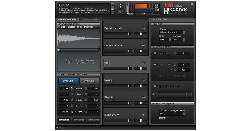 Groove BPB