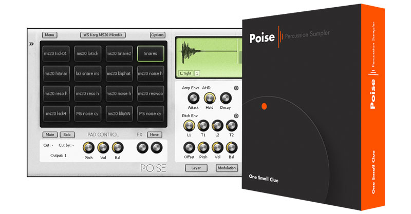 Poise: Percussion Sampler by One Small Cube