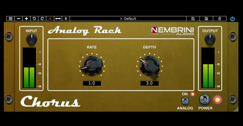 Analog Rack Chorus