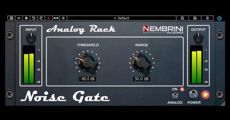 Analog Rack Noise Gate