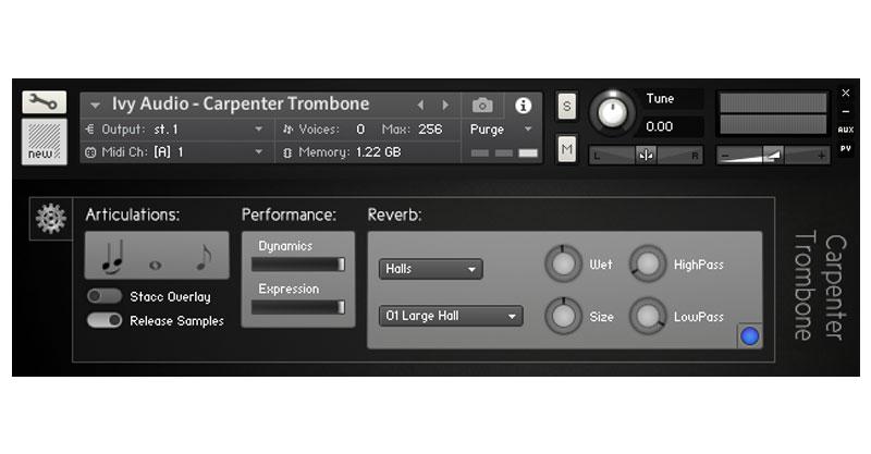 Carpenter Trombone by Ivy Audio