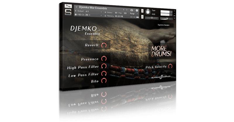 Djemko Drum Ensemble by Supreme Samples