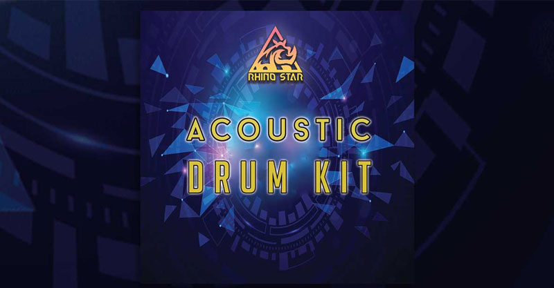 Rhino Star Free Acoustic Drum Kit by Rhino Star Music