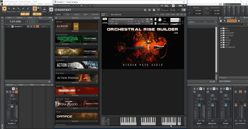 Orchestral Rise Builder by Hidden Path Audio