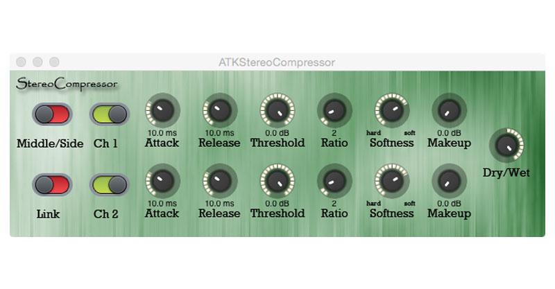 ATKStereoCompressor by Matthieu Brucher