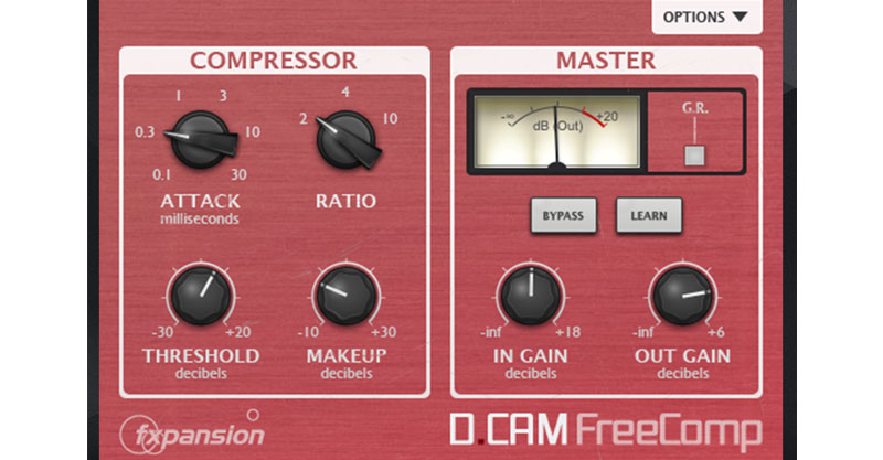 DCAM FREEComp by FXpansion