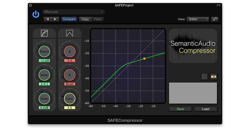 SAFECompressor by Semantic Audio