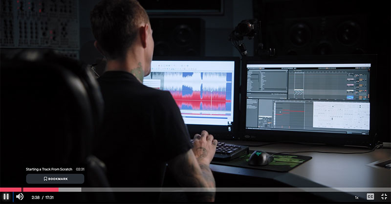 what does deadmau5 masterclass go over?